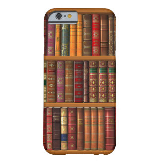 """Trompe l'oeil """"French library"""" Barely There iPhone 6 Case"""
