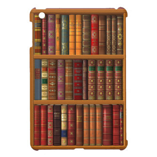 "Trompe l'oeil ""French library"" Case For The iPad Mini"