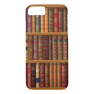 """Trompe l'oeil """"French library"""" iPhone 7 Case"""