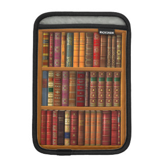 """Trompe l'oeil """"French library"""" Sleeve For iPad Mini"""
