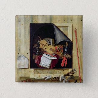 Trompe l'Oeil Still Life, 1665 Button
