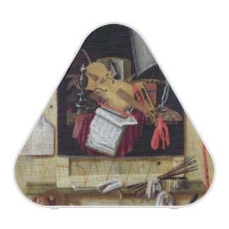 Trompe l'Oeil Still Life, 1665 Speaker