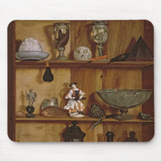 Trompe l'Oeil with a Statuette of Hercules Mouse Pad