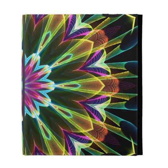 Trompet Flower kaleidoscope iPad Cases