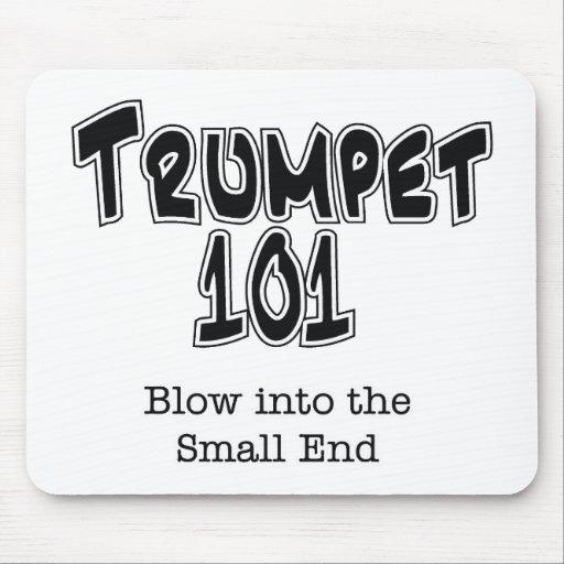 Trompeta 101 alfombrillas de raton