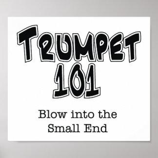 Trompeta 101 póster