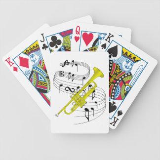 Trompeta Baraja Cartas De Poker
