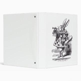 "Trompeta blanca del conejo carpeta 1"""