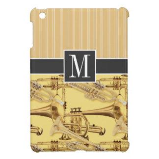 Trompeta de cobre amarillo; trompetas iPad mini carcasa