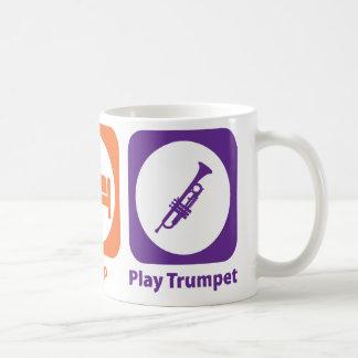 Trompeta de Eat Sleep Play Taza