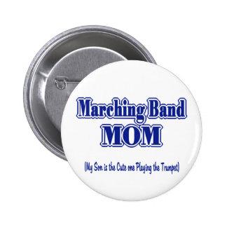 Trompeta de la mama de la banda pin