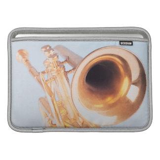 Trompeta detallada 2 fundas macbook air