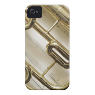 Trompeta detallada carcasa para iPhone 4 de Case-Mate