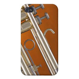Trompeta en el oro iPhone 4/4S funda