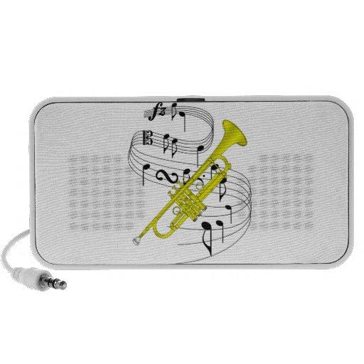 Trompeta Laptop Altavoz