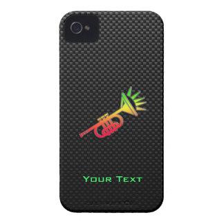 Trompeta lisa iPhone 4 Case-Mate cárcasas