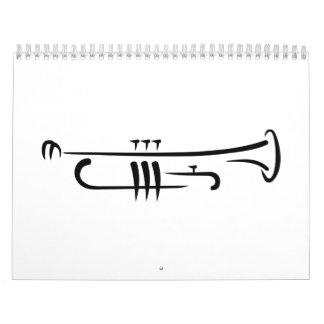 Trompeta negra calendario