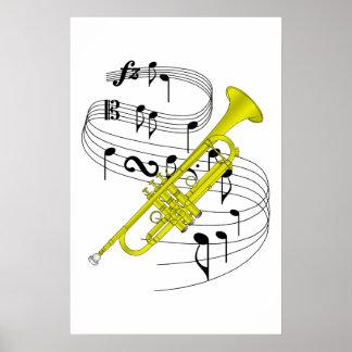 Trompeta Posters