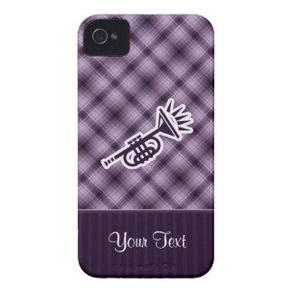 Trompeta púrpura Case-Mate iPhone 4 carcasa