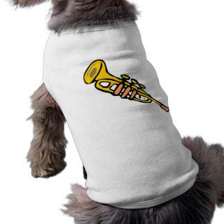 Trompeta Camiseta De Perrito
