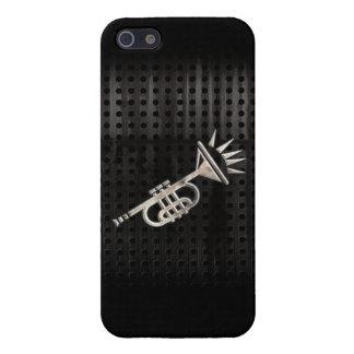 Trompeta rugosa iPhone 5 carcasas