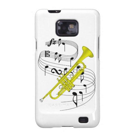 Trompeta Samsung Galaxy S2 Carcasas