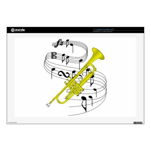 Trompeta Skins Para 43,2cm Portátil