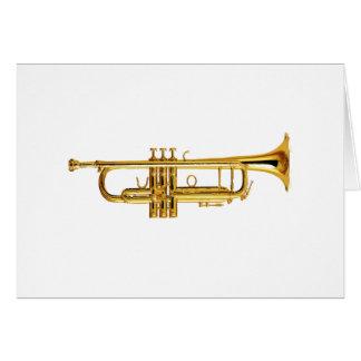 Trompeta Tarjeta De Felicitación