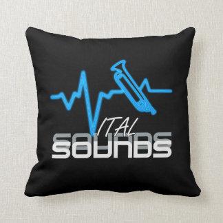 Trompeta vital de los sonidos almohadas