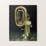 Trompeta y tuba puzzles con fotos