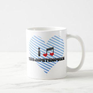 Trompetenpunk fan coffee mug
