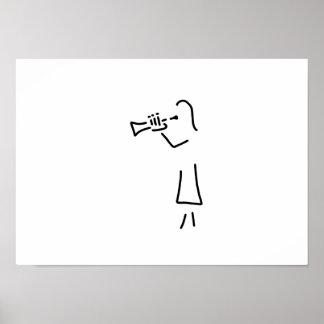 trompeter more blechblaeser poster