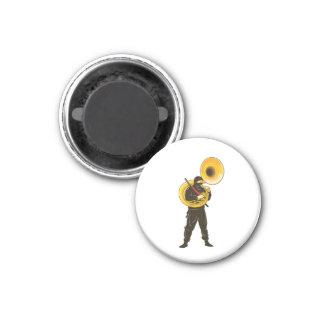 Trompetista de Ninja Imán Para Frigorifico