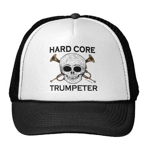 Trompetista del núcleo duro gorros