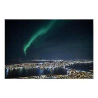 Tromso Northern Light Poster