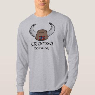 Tromso Norway Viking Hat Shirt
