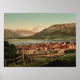 Tromso, Troms, Nord-Norge, Noruega Poster