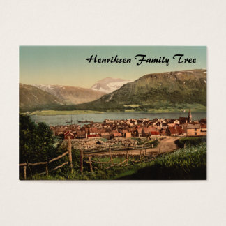 Tromso, Troms, Nord-Norge, Norway Business Card