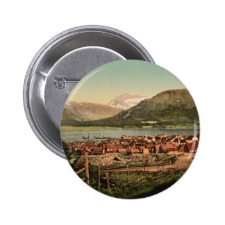 Tromso Troms Nord-Norge Norway Button