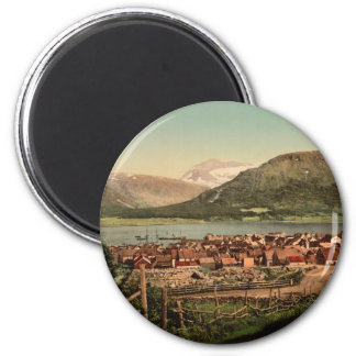 Tromso, Troms, Nord-Norge, Norway 2 Inch Round Magnet