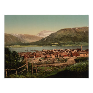 Tromso, Troms, Nord-Norge, Norway Poster