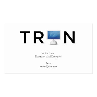 TRON2015_BusinessCards_5 Double-Sided Standard Business Cards (Pack Of 100)