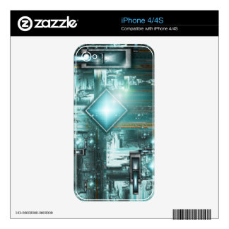 TRON- the next generation iPhone4/4S Zazzle Skin Decal For iPhone 4