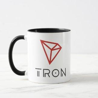 Tron TRX Logo Coffee Mug