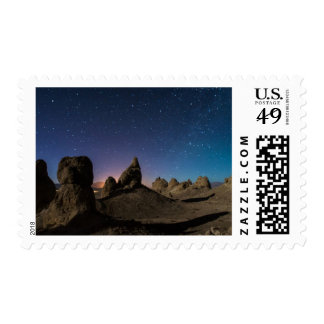 Trona and the Milky Way Postage Stamps