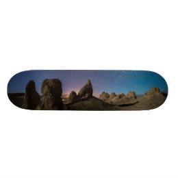 Trona and the Milky Way Skateboard Deck