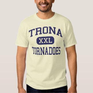 Trona - Tornadoes - High School - Trona California Tee Shirt