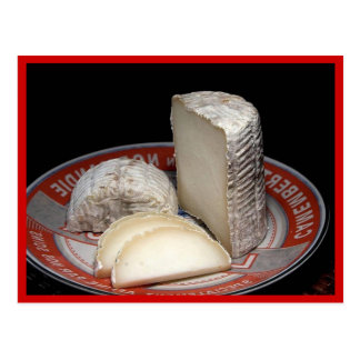 Tronchetto Cheese Platter - Postcard