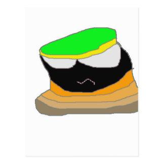 Tronco comics cartoon character postcard