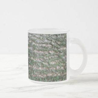 Tronco de árbol de tulipán taza cristal mate